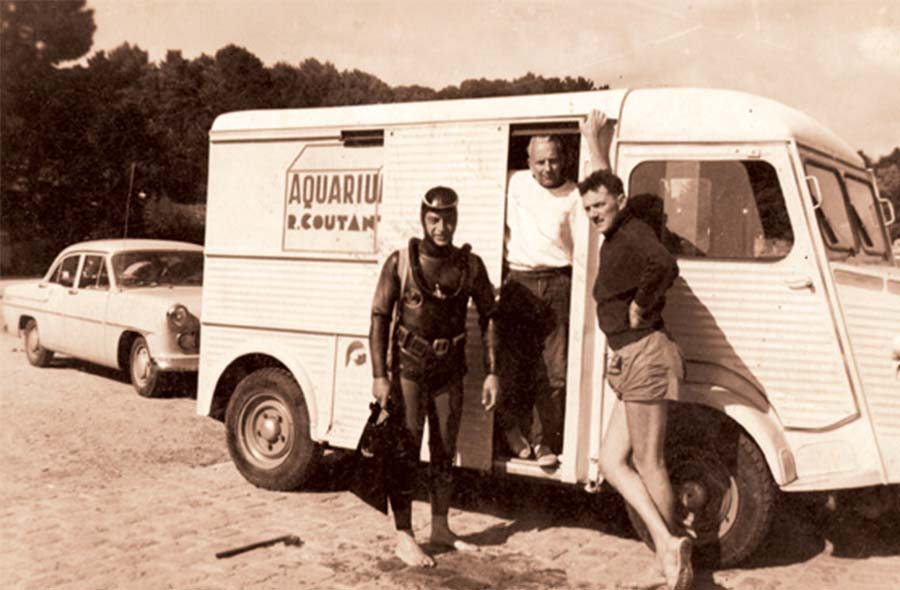 Histoire de famille - René Coutant - Aquarium La Rochelle